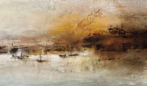 Landscape – experimentelle Malerei