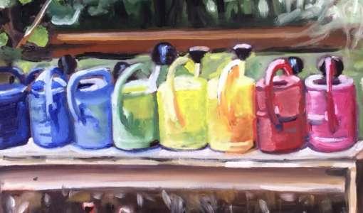 Daily Painting – Das tägliche Bild im kleinen Format