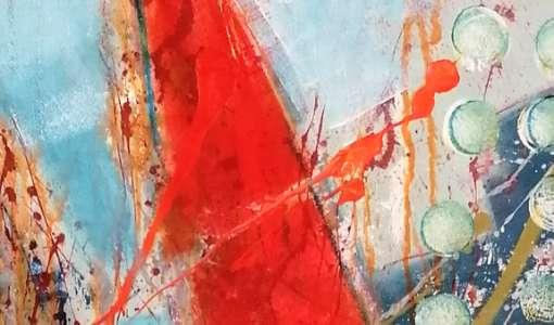 Freies Malen: Experimentieren mit Farbe