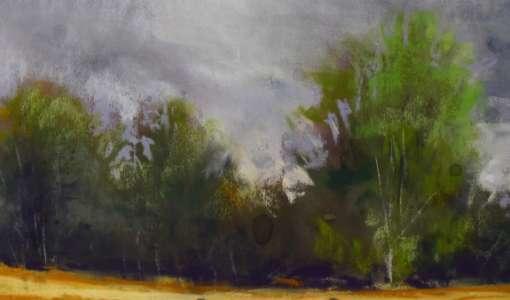 Herbstlandschaften in Pastell