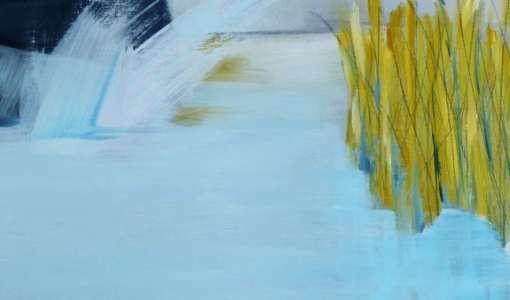Abstrakte Landschaften - Spontane Malerei