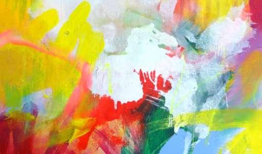 Dynamisch und befreit Malen