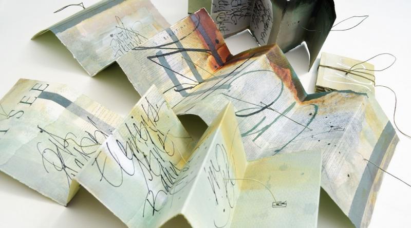 Leporello Pendere - Hängende Buchobjekte