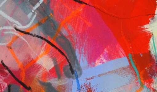 Das Spiel mit der Linie in der Acrylmalerei