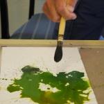 Sommerakademie Worpswede, Fotokurse, Fotoworkshops, Malreisen, Malkurse, Struktur malen, Atelier, Farbe, experimentieren