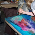 Sommerakademie Worpswede, Fotokurse, Fotoworkshops, Malreisen, Malkurse, aquarellieren in worpswede, meer, natur